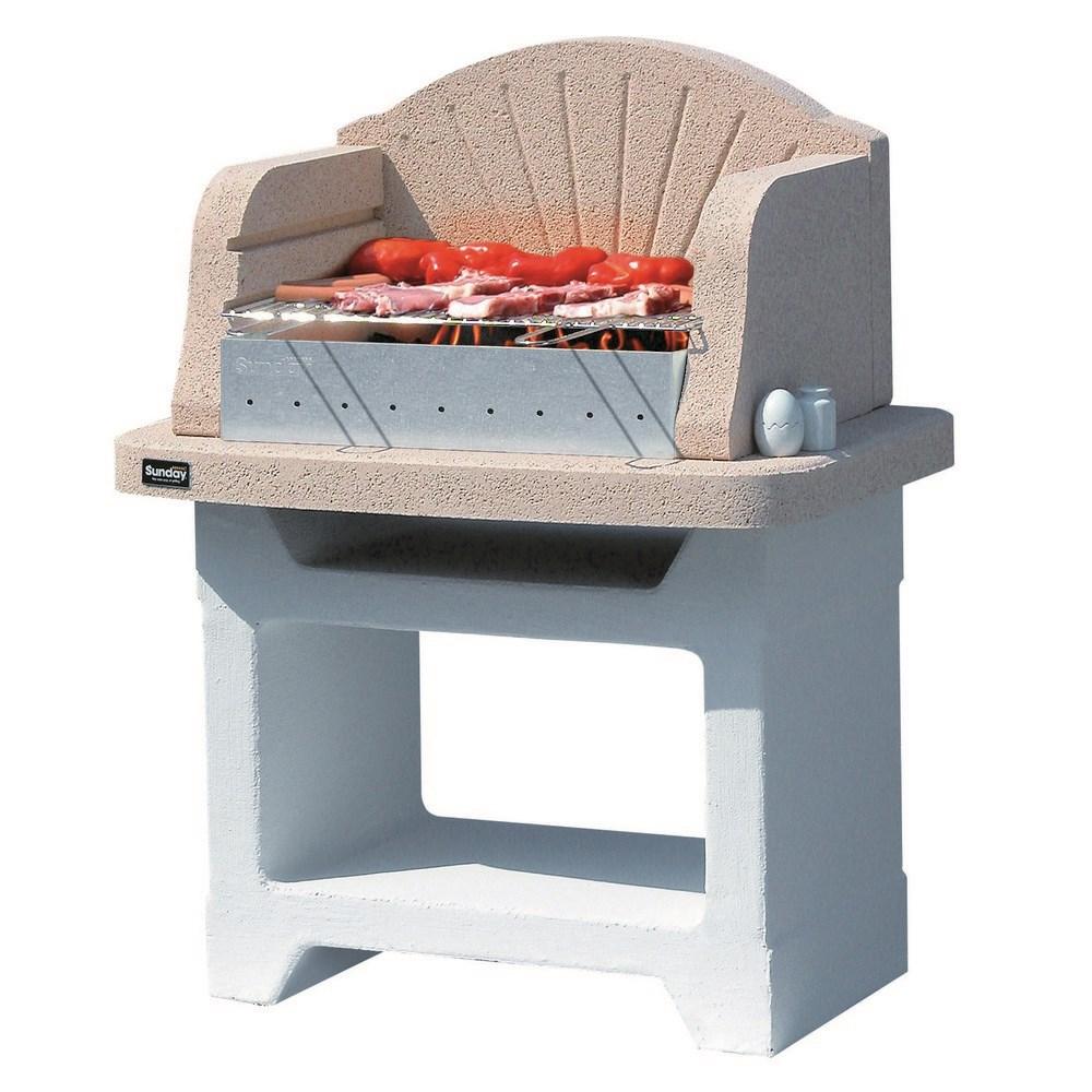 Barbecue a legna sunday for Offerte barbecue in muratura