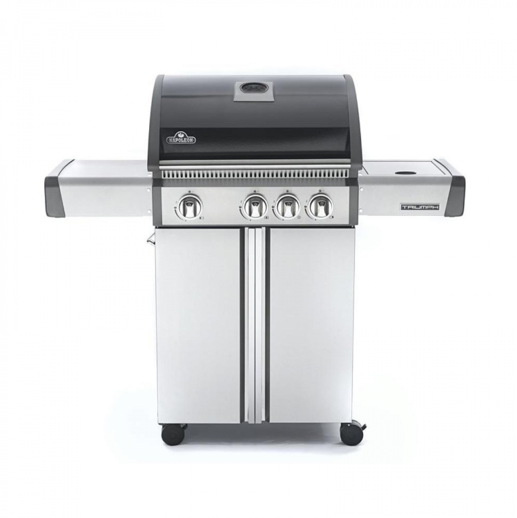 Barbecue Triumph 410 con fuoco laterale
