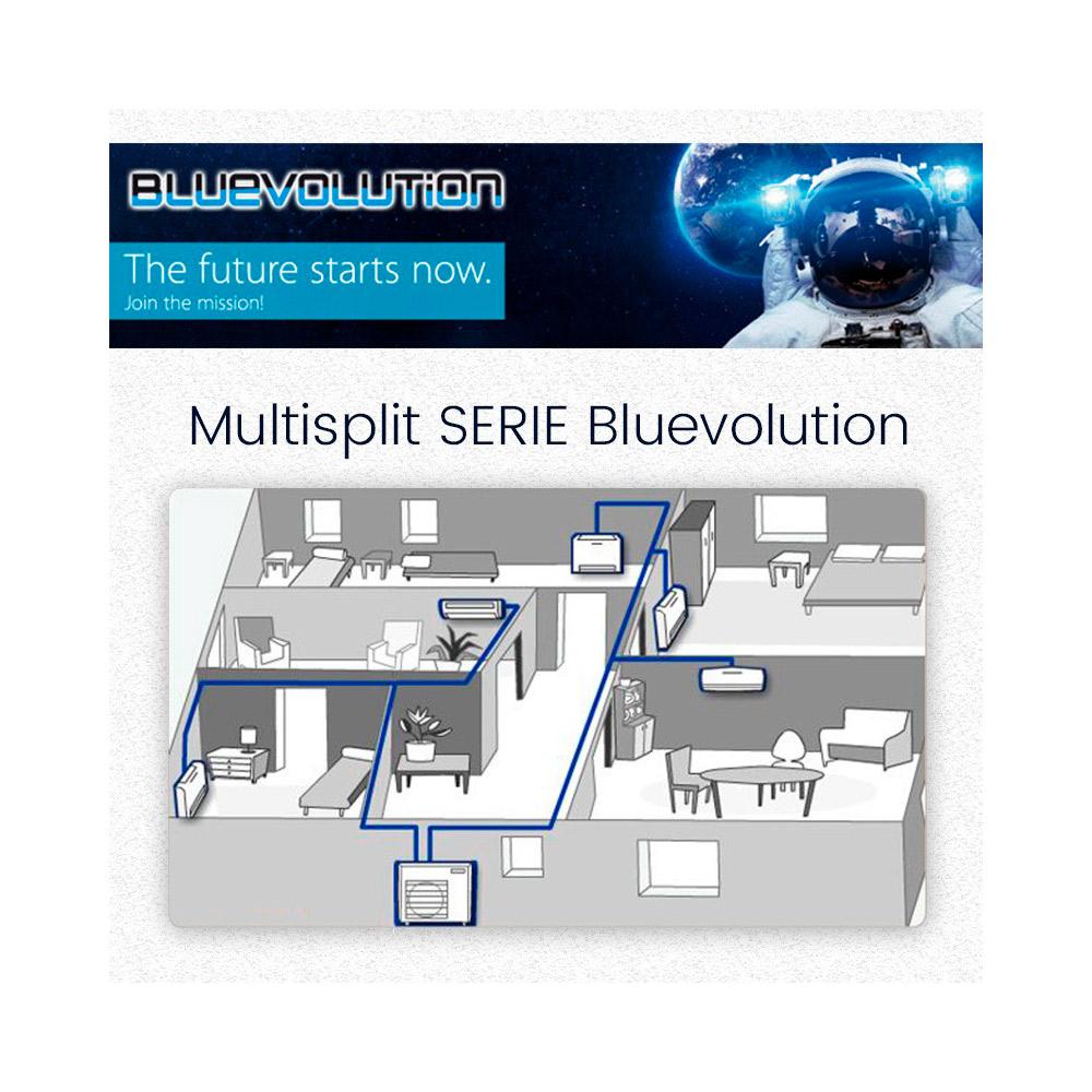 Climatizzatore Multisplit DAIKIN BLUEVOLUTION dc inverter pompa di calore