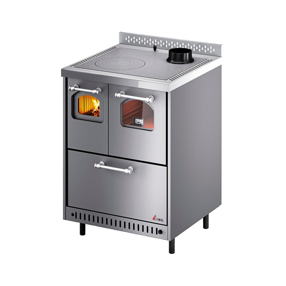 Cucina a Legna Cadel Jolly 6,4 kw scarico fumi superiore destro