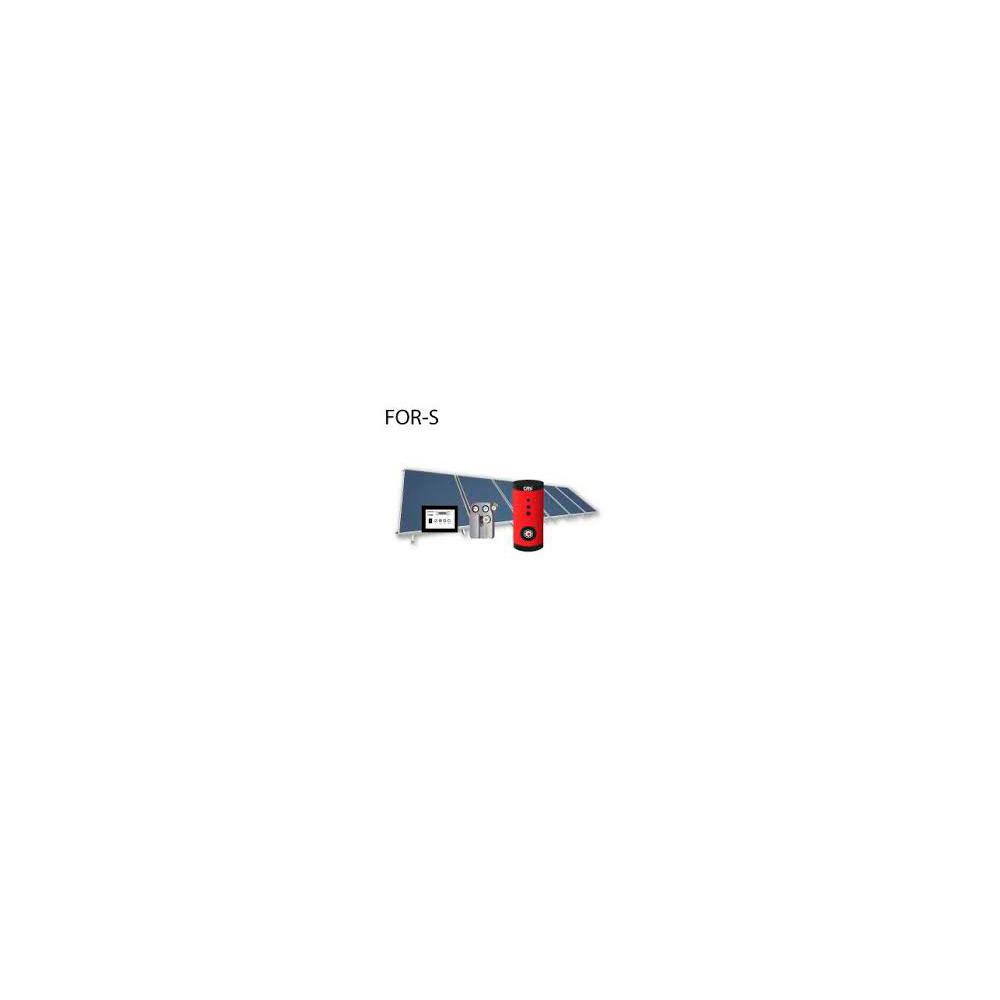 Pannelli Solari a circolazione forzata Kit For-S 302-5 plus