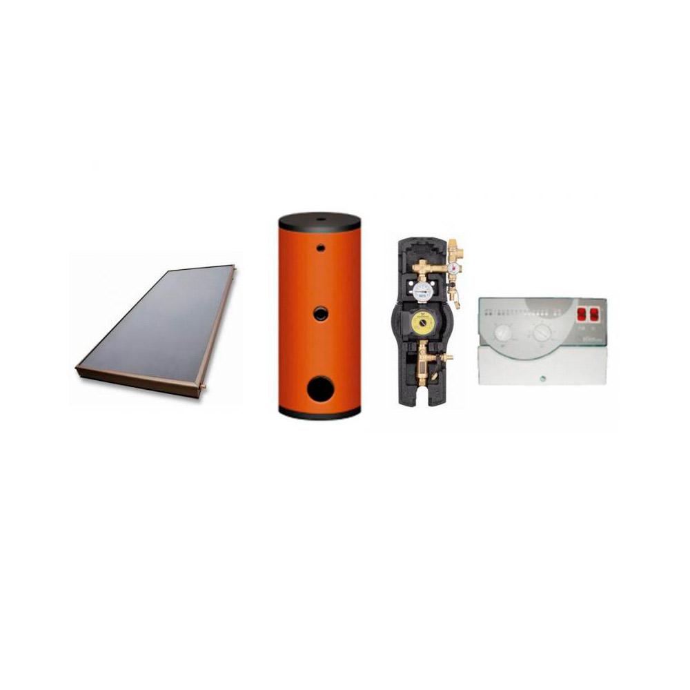 Pannelli Solari a Circolazione Forzata Sunerg Kit Eco KFE 300 / 3 / S