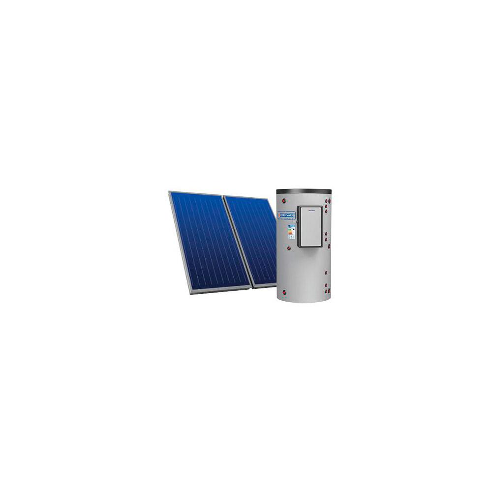 Pannelli solari a circolazione forzata kit for s 302 4 for Connessioni idrauliche di acqua calda sanitaria