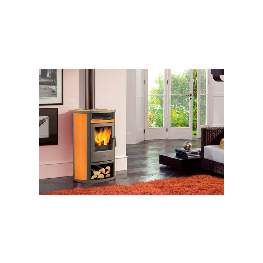 Stufa a legna edilkamin lilia legna 8 5 kw ceramica - Dichiarazione iva 4 prima casa ...