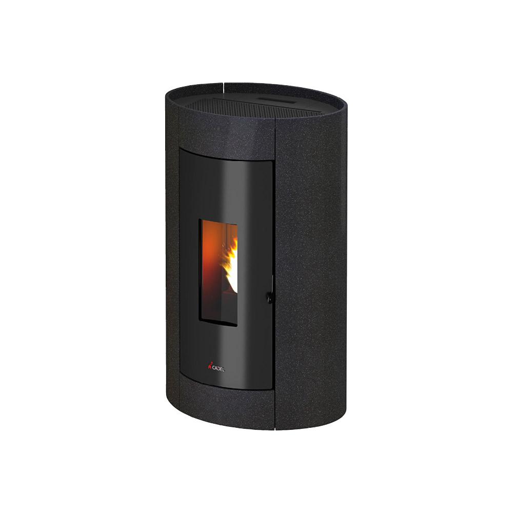 stufa a pellet cadel elise 3 8 5 kw. Black Bedroom Furniture Sets. Home Design Ideas