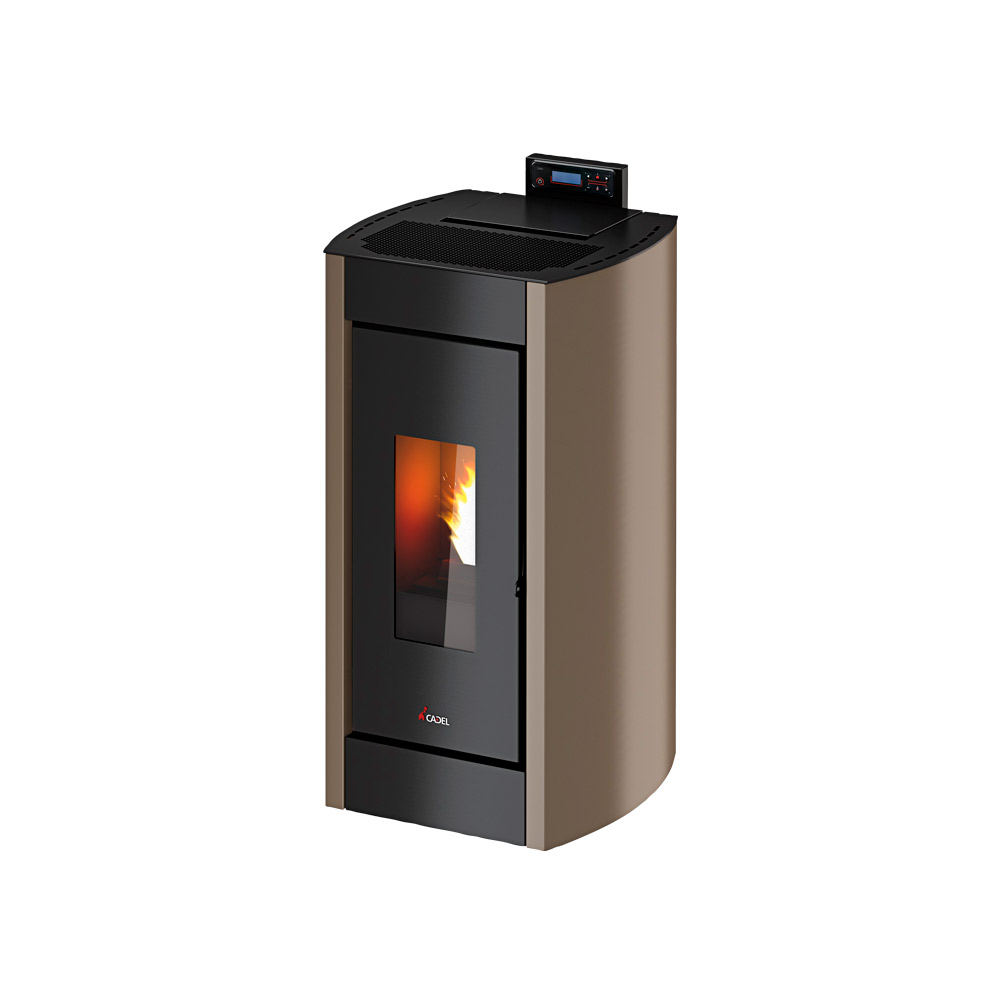 Stufa a Pellet Cadel Kriss3 7 kW light bronze