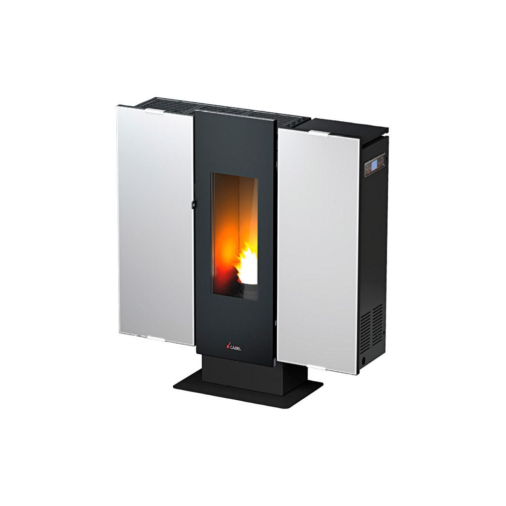 Stufa a pellet cadel wall vetro 9 kw - Stufe a bioetanolo opinioni ...