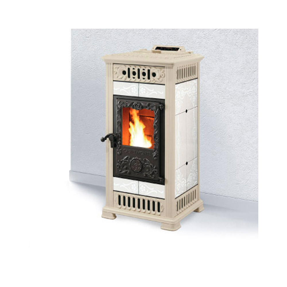 Stufa a pellet castelmonte marilyn canalizzata 13 kw - Canalizzazione aria calda stufe a pellet ...