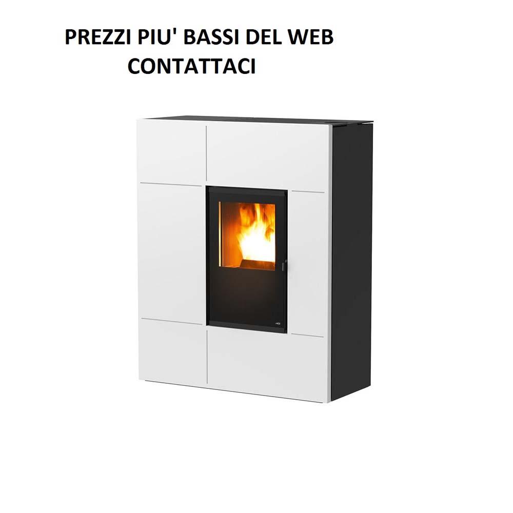 Stufa a Pellet MCZ Stream 12,4 kw comfort air acciaio