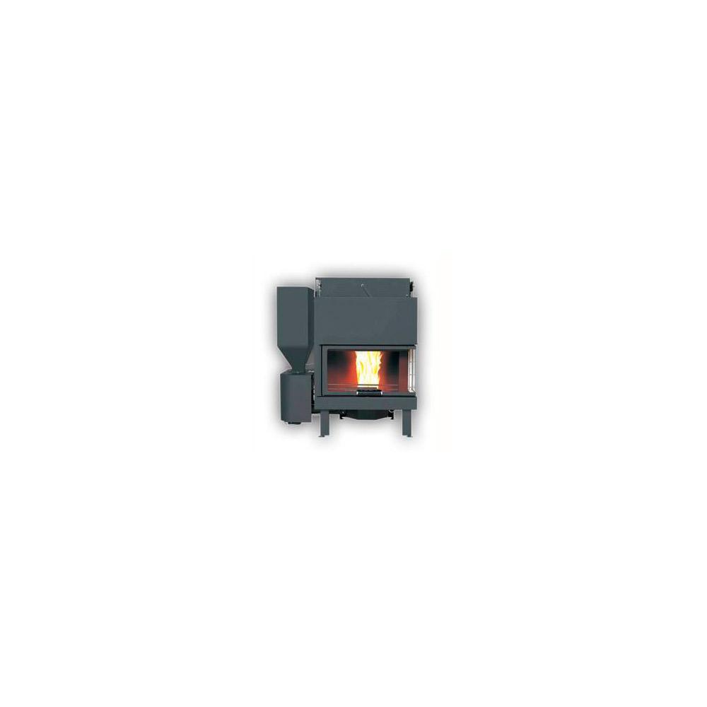 Termocamino Policombustibile Girolami TC BIO 35 dx sx