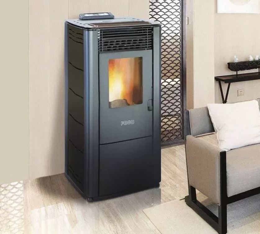 Termostufa a Pellet Foco Traditional Steel Idro  28